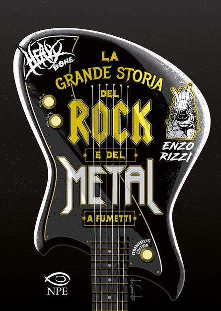 La grande storia del rock e del metal a fumetti