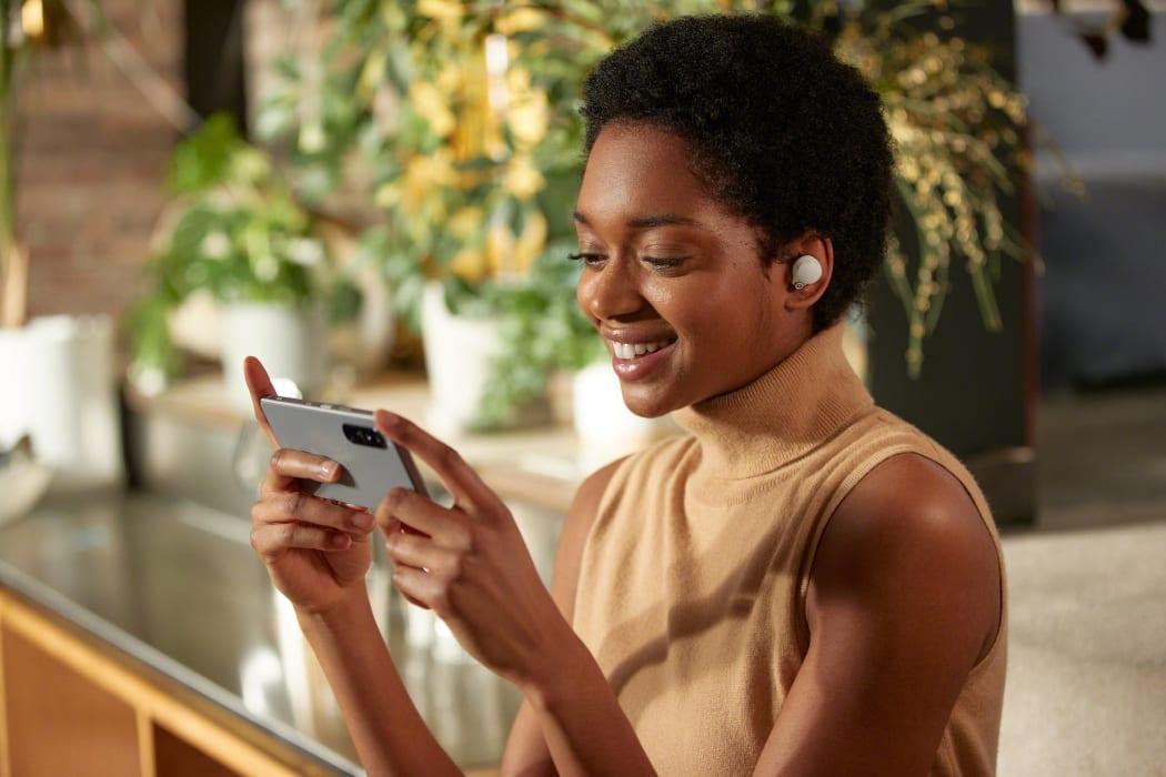 Sony cuffie true wireless WF-1000XM4