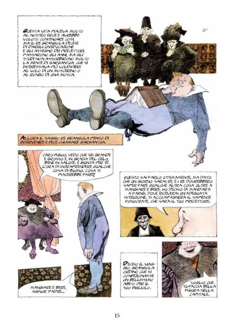 Gargantua e Pantagruel di Dino Battaglia