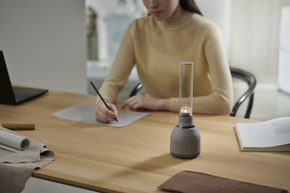 Glass Sound Speaker LSPX-S3