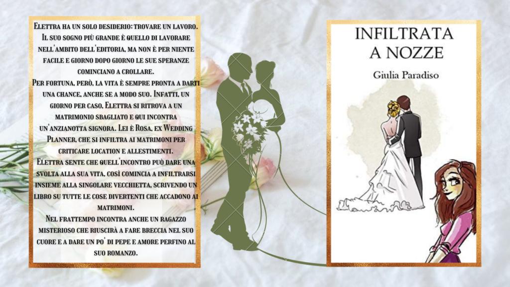 recensione romanzo: infiltrata a nozze