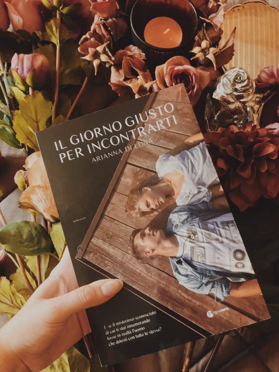 """foto del libro """"Il giorno giusto per incontrarti"""""""
